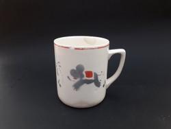 Gránit Kispest elefántos gyermek bögre - mesejelenetes gyerek pohár