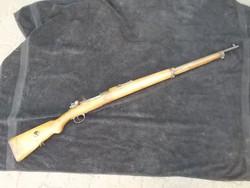 Riasztóvá alakított török mauser puska 1937