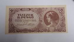 10000 b.-pengő 1946, hajtatlan aunc.
