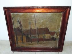 JÁVOR PÁL(1880-1923):eredeti festménye