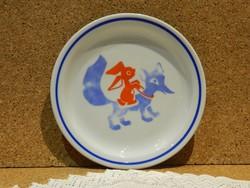 Zsolnay mese tányér.