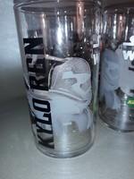 DISNEY LUCASFILM STAR WARS - KYLO REN 6 db-os üveg pohár készlet