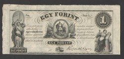 "1 forint 1852. ""A"".  RITKA!!  UNC!!"