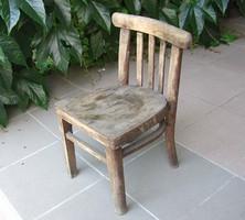 Antik ős régi gyerek szék