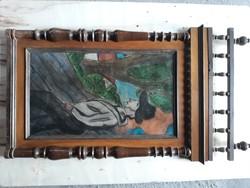 Pasztelfestmény scheiber h szignóval eladó