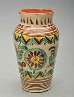 Karcsú hucul váza Kártpátalja 25 cm