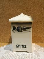 Antik Wilhelmsburg fűszertartó:kávé.