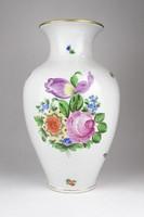 0R626 Régi nagyméretű Herendi porcelán váza 31.5cm