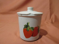 Epres fűszertartó, kerámia tároló edény