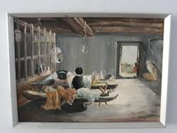 Komáromi Kancz Endre festmény eladó