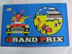 Grand Prix retro autós társasjáték