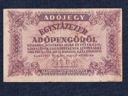 Adójegy Egyszázezer adópengőről 1946/id 7789/