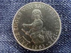 Osztrák ezüst 25 Schillig 1963, Prince Eugen/id 9619/