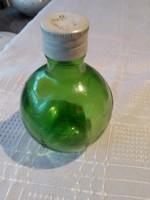 Zöld  unikumos üveg