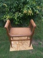 Szecessziós, antik  etrüszk- szófa -ülőke