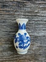 Régi, miniatűr porcelán váza