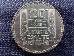 Franciaország, ezüst (.680) 20 Frank 1933/id 9459/