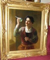 Alexander Solomon Hart - A méregkeverő (1873)