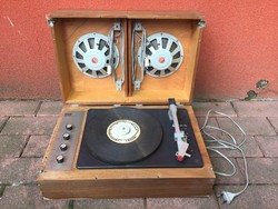 Supraphon cseh lemezjátszó rádió