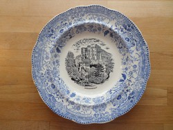 Régi Reichenbach porcelán tányér dísztányér 23 cm