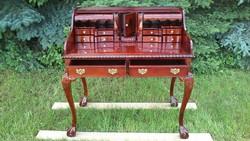RITKASÁG! Eredeti antik íróasztal, szekreter!!! Mahagóni Fából kiváló állapotban!!!