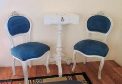 Francia barokk stílusú szék 19000 ft/db gyönyörű