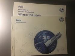 Vw Volkswagen polo kezelési könyv műszaki útmutató