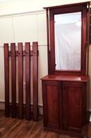 Komplett előszoba bútor fogas tükrös szekrény áron alul egyben eladó