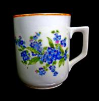 Zsolnay nefelejcses csésze 69.