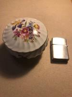 Régi német porcelán bonbonier