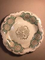 Német porcelán dísztányér