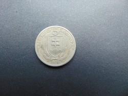 5 korona 1939 Szlovákia