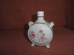 Drasche porcelán,  kulacs, átmérője 9 cm.