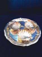Kagylós ezüst kínáló szett 113 g