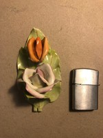 Aquincumi porcelán virág