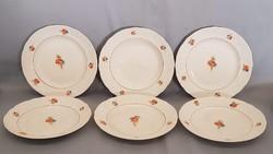 Ritka Gránit pipacsos gyönygykörös tányérok