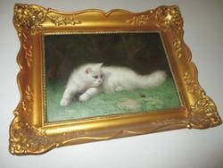 Boleradszky Benő (1885-1957) -  Perzsa macska