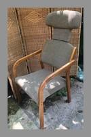 Különleges, mid century, skandináv jellegű,retro fotel