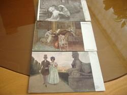 Esküvői készülődés:1913./Belvedere. Két lap egyben 1.000 Ft, v. 400 Ft/db