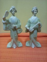 2 darab Porcelán figura 21 centi