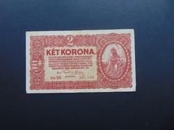 2 korona 1920  Sorszám között pont