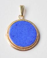 14K.sarga arany medal-Lapis kovel