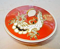 Wallendorf kézzel festett sárkányos bonbonier