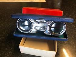 Antik Szinházi látcső, dobozában, Made in Japan