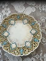 Zsolnay áttört tányér