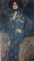 Nagyon ritka Gustav Klimt litográfia