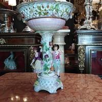 Meissen porcelán asztalközép