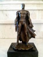 Batman bronz szobor