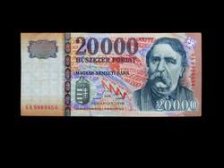 20 000 FORINTOS AZ ELSŐ KÖZÜL - 1999
