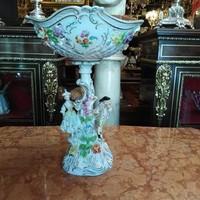 Drezdai porcelán asztalközép